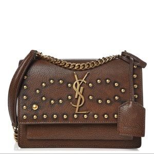{Saint Laurent} YSL Studs Crossbody Bag